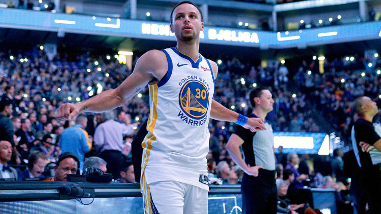8f22b6a7099f Warriors  Stephen Curry names his top 5 NBA players all time - CBSSports.com
