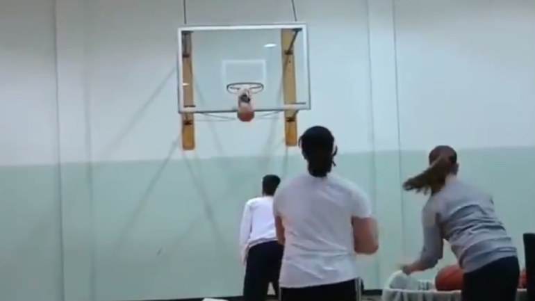 LOOK: Man breaks world record for consecutive NBA-distance threes in a minute with 31