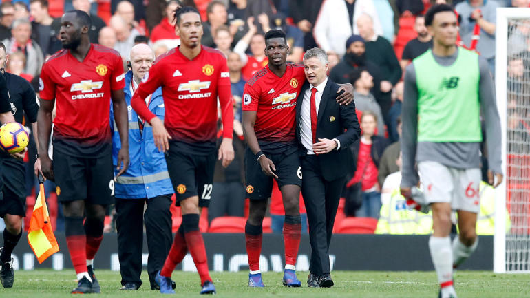 6d131e7dd Ole Gunnar Solskjaer is Manchester United s lone candidate for coaching  vacancy