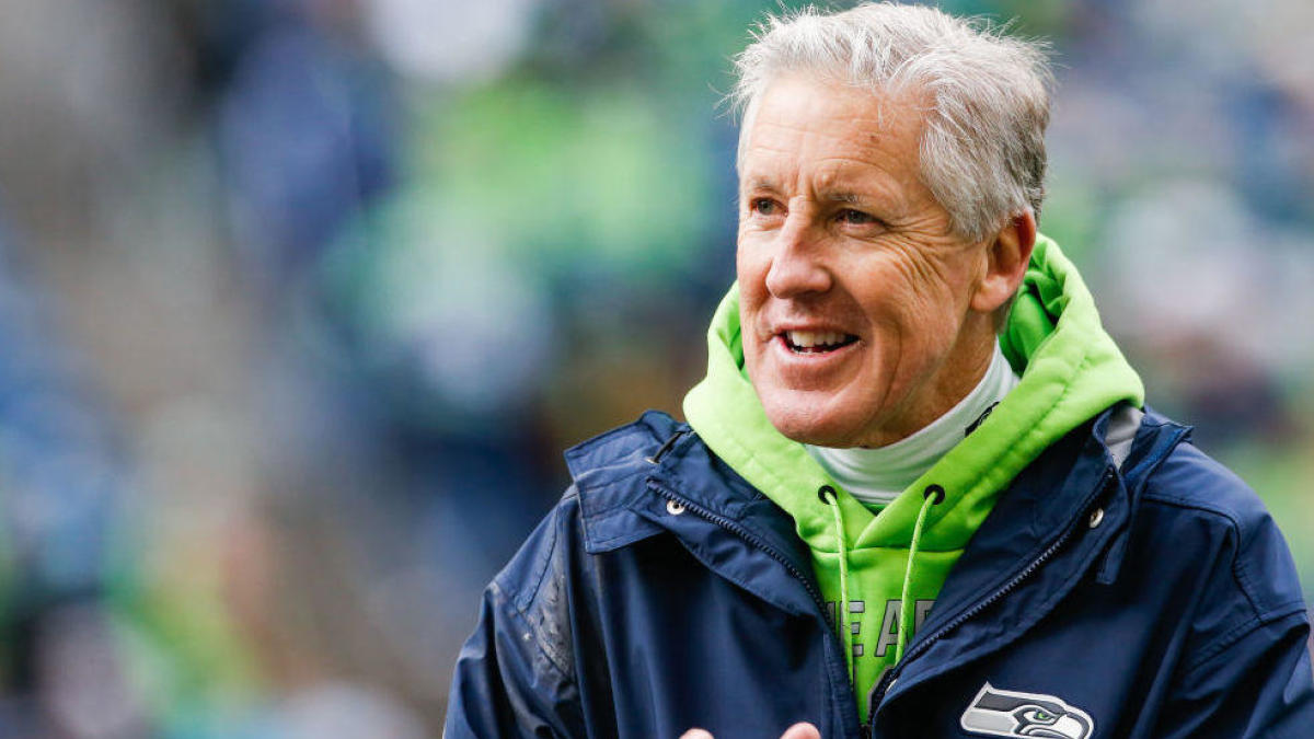 Pete Carroll admits Seahawks were in on trying to sign Antonio Brown after the Raiders released him