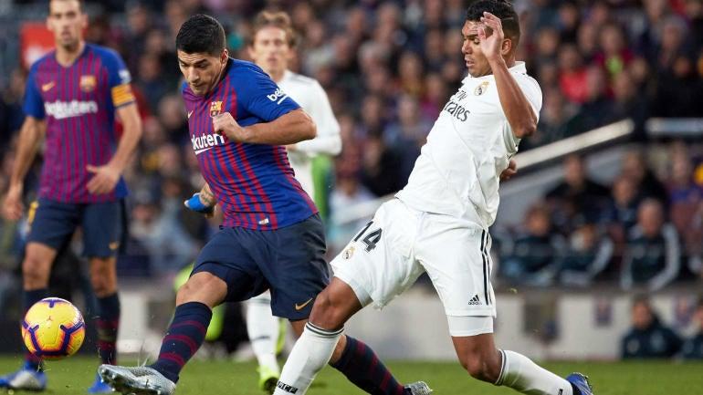 Barcelona vs. Real Madrid score, takeaways: Rakitic scores El Clasico winner as Messi and company win again