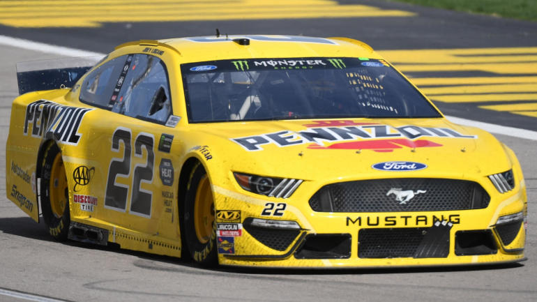 2019 pennzoil 400 results  joey logano captures checkered