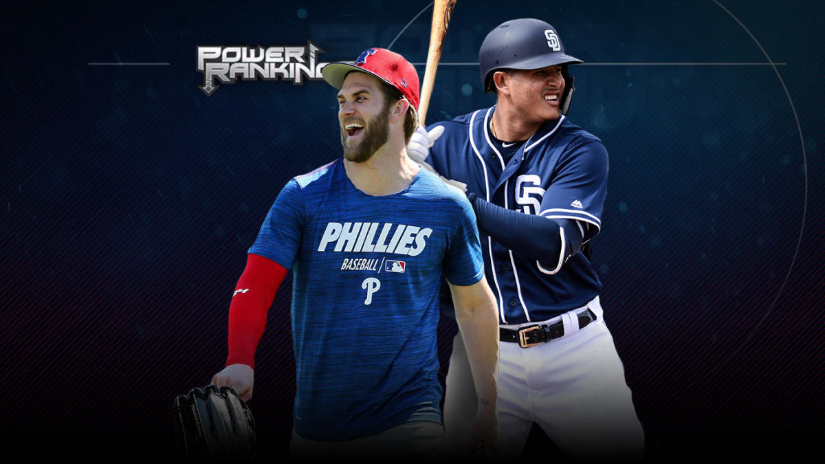 74c7ee14 MLB Power Rankings: Bryce Harper pushes Phillies into top 10; Red Sox,  Yankees lead a top-heavy AL - CBSSports.com