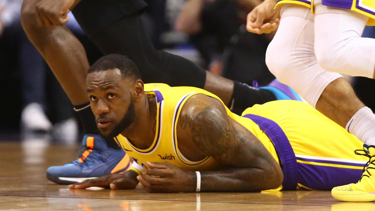 NBA scores, highlights, updates: LeBron James, Lakers suffer crucial