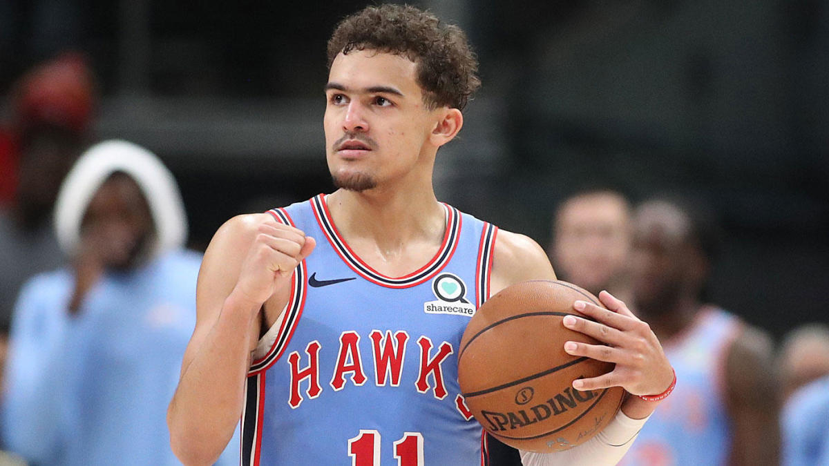 buy online 2b367 69387 WATCH: Hawks star Trae Young shows no mercy playing against ...