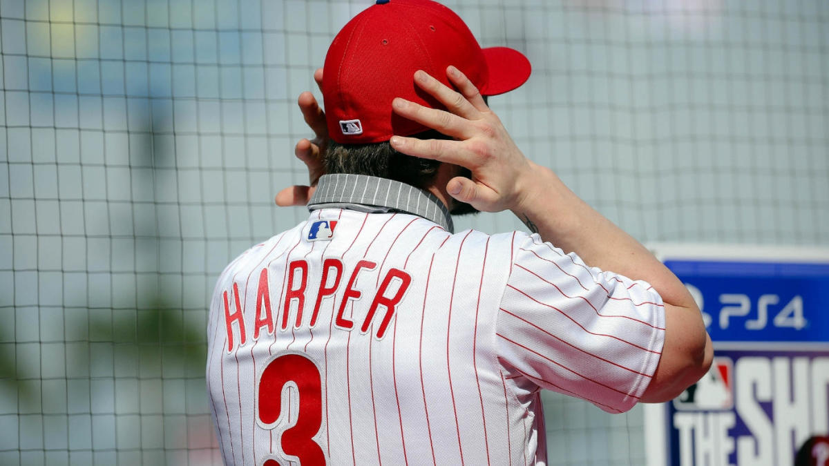 sale retailer 59b61 a5272 Bryce Harper's Phillies jersey sets sales record across all ...