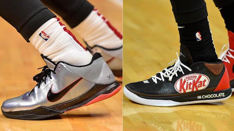 NBA Sneaker King Power Rankings: James Harden, Jayson Tatum