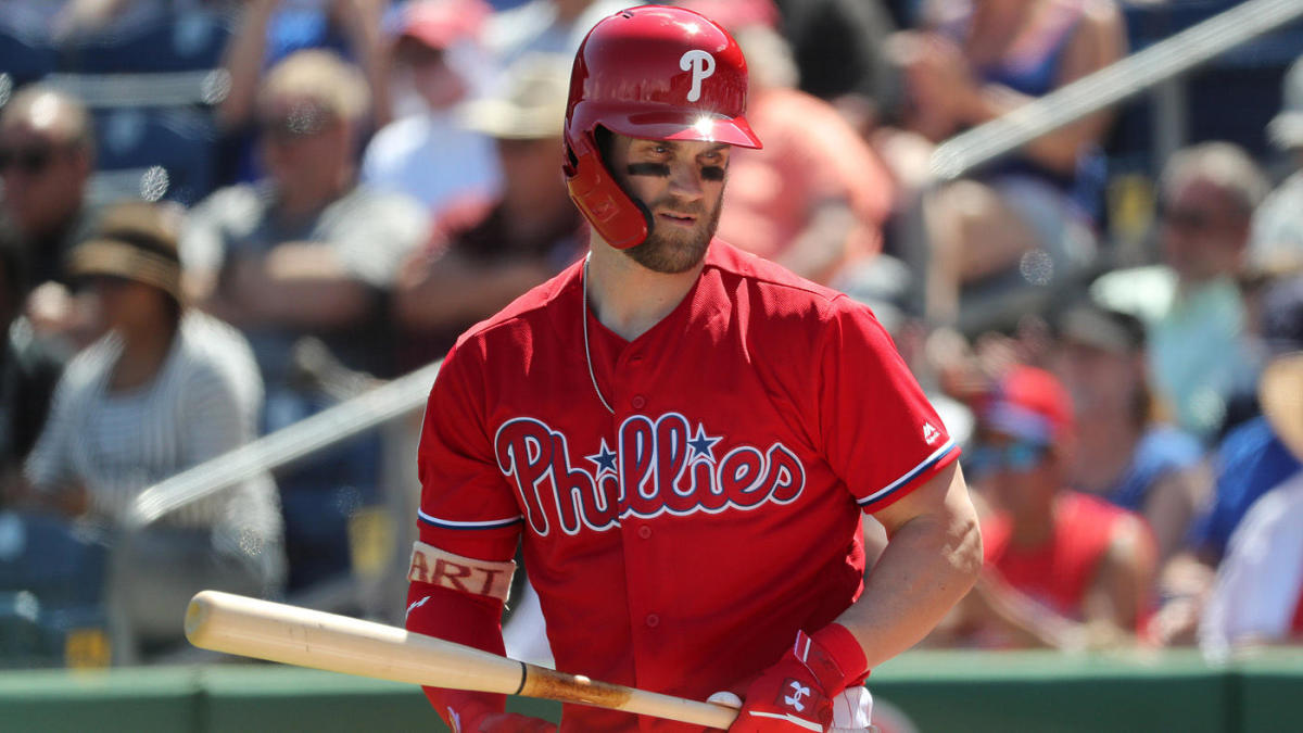 new styles 829bc 9fa6b Bryce Harper has not played a game for the Phillies and he ...