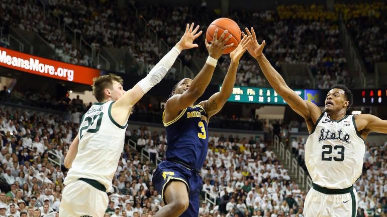 Michigan State vs. Michigan score: Michigan State defeats Michigan to claim share of Big Ten title - CBS Sports thumbnail