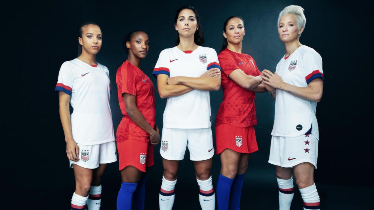 5d13a2a0282 Nike unveils 2019 FIFA Women's World Cup uniforms for USWNT, France,  England and more - CBSSports.com