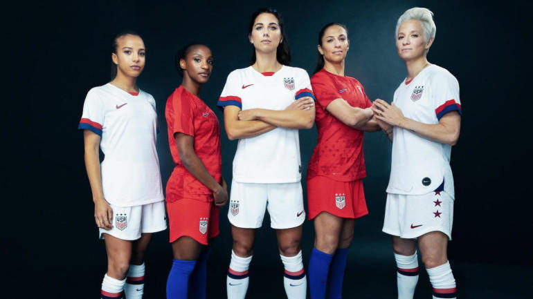 2ff818b8925 Nike unveils 2019 FIFA Women s World Cup uniforms for USWNT