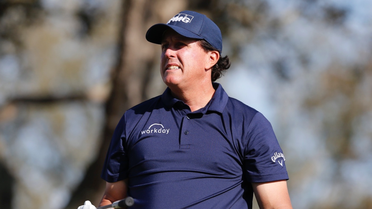 Phil Mickelson almost missed tee time at BMW Championship after hotel is struck by lightning and evacuated