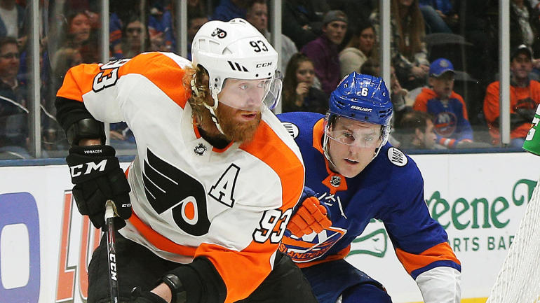 promo code 53aad 2cf0d Flyers winger Jakub Voracek suspended two games for hit on ...
