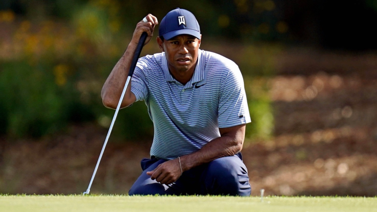 tiger woods score  one bad hole costs him a great second round at 2019 players championship