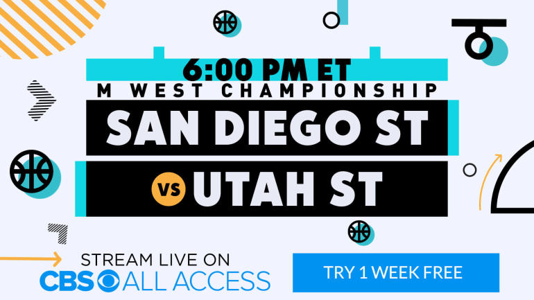 2019 Mountain West Tournament final: Utah State vs  San Diego State
