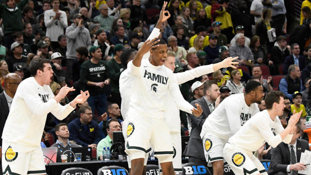 Michigan State Vs Michigan Score Spartans Beat Wolverines