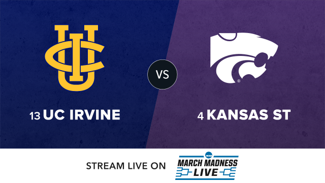 13 UC Irvine vs 4 Kansas State
