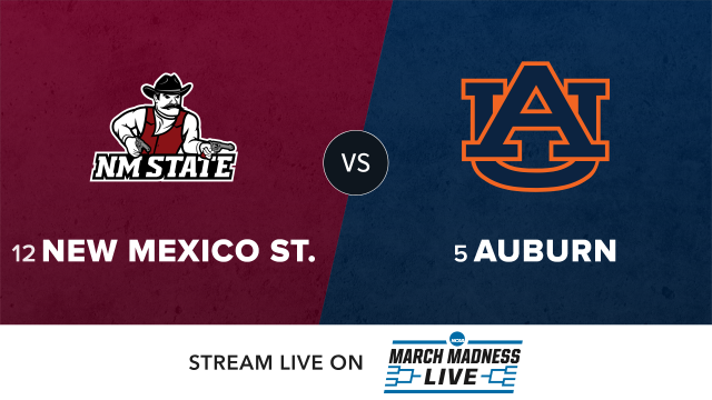 12 New Mexico St vs 5 Auburn