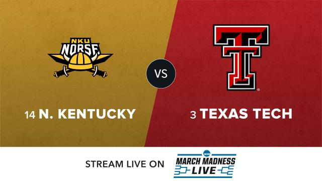 14 N Kentucky vs 3 Texas Tech