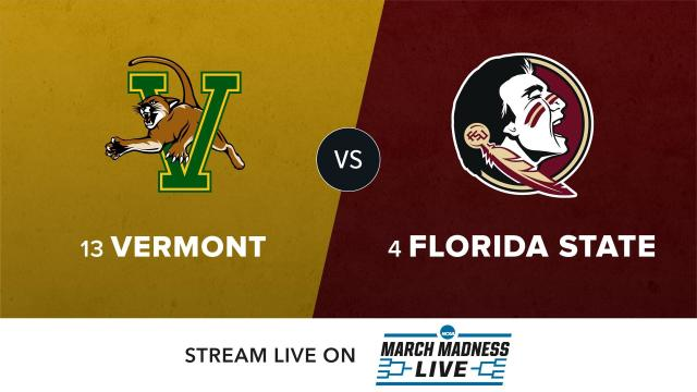 13 Vermont vs 4 Florida State