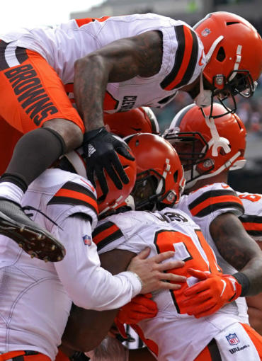 531a56fea Power Rankings  Browns leap into Top 10. Browns are now the ...