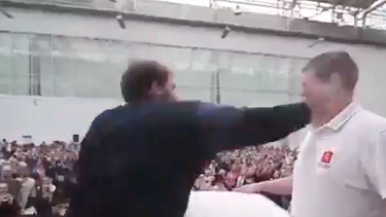 LOOK: Russian slapping championships are a thing and they are absolutely brutal