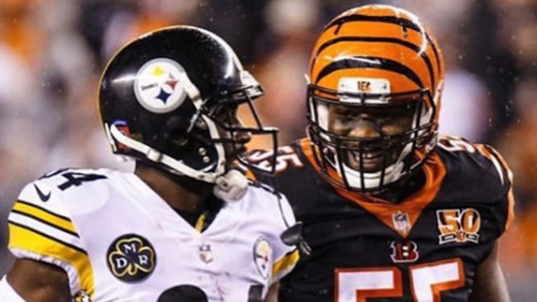promo code 64c14 f2d0f Antonio Brown responds to Vontaze Burfict signing ...