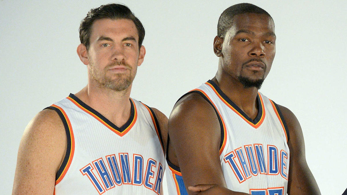 3187f303acb Nick Collison says former Thunder star Kevin Durant deserves to have jersey  retired by OKC - CBSSports.com
