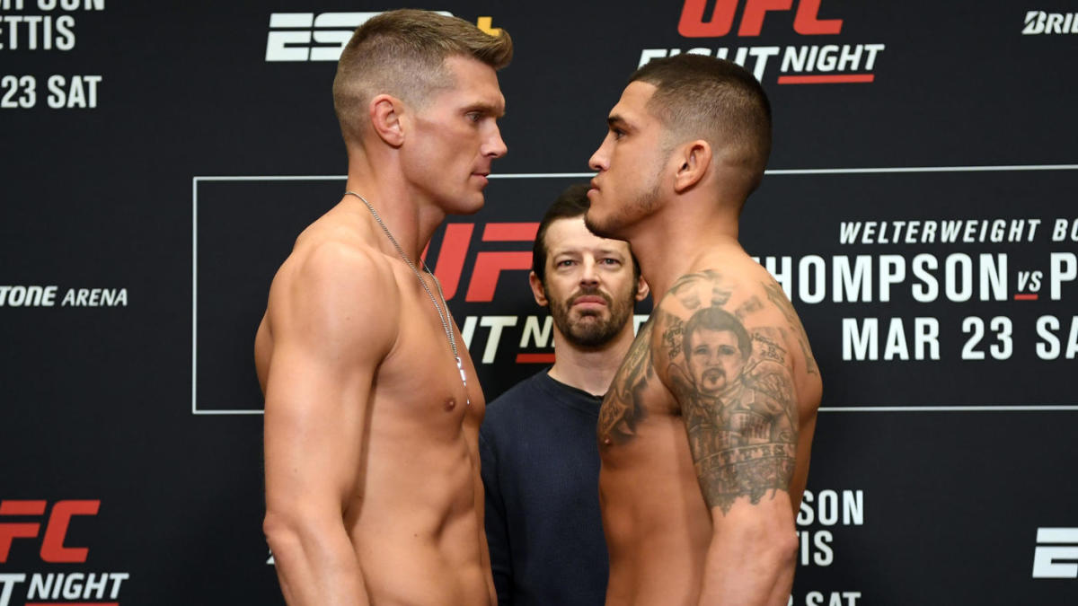 UFC Fight Night 148 start time: Stephen Thompson vs ...