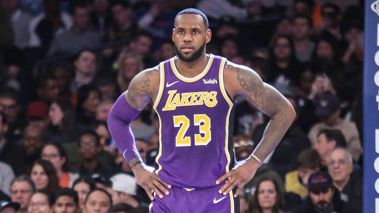 buy online 9acc9 2dcd6 LeBron James reportedly happy in Los Angeles despite Lakers dysfunction,  wants to play in city for the rest of his career - CBSSports.com
