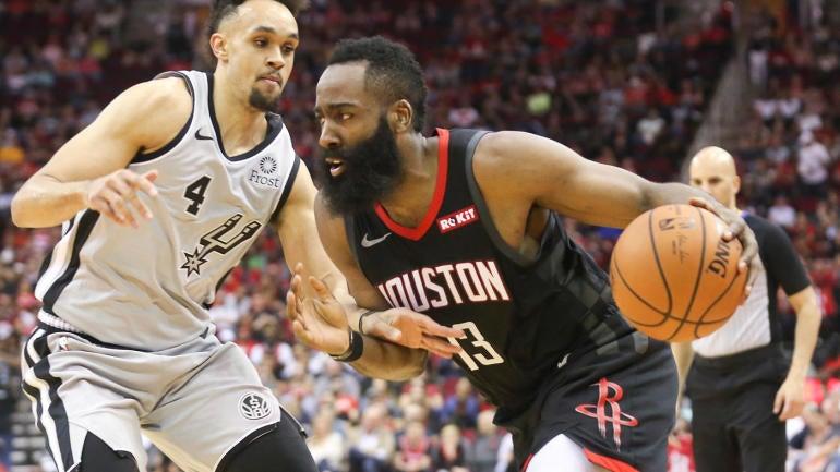 d791c49354c5 Rockets  James Harden scores 61 points in win over Spurs