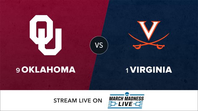 9 Oklahoma vs 1 Virginia