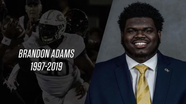 Georgia Tech senior defensive tackle Brandon Adams dies at 21
