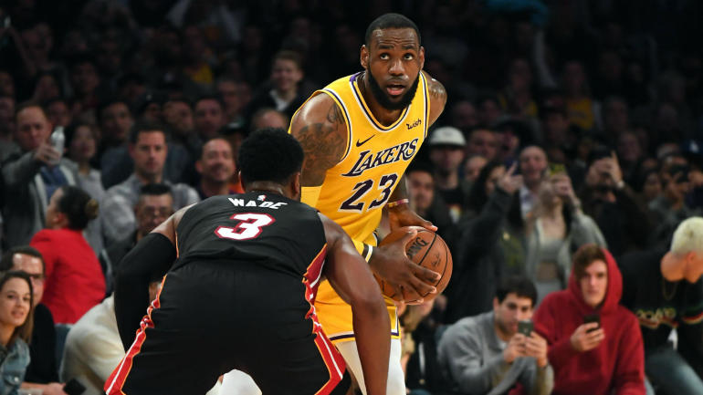 72d31ae55 Dwyane Wade laments impact of injuries on LeBron James  first season with  Lakers   It s unfortunate  - CBSSports.com