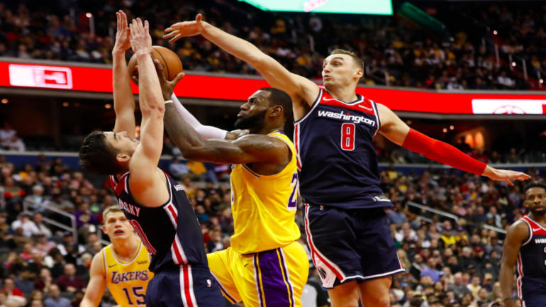 Image result for lakers v wizards