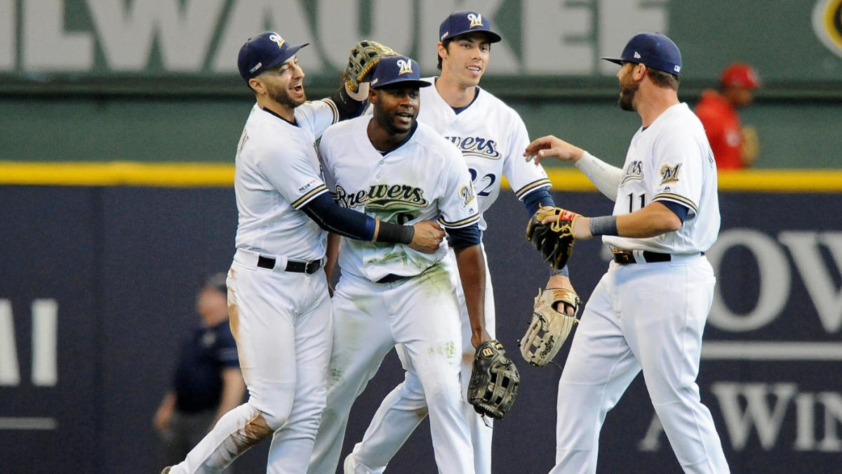 newest 902b1 af81b Opening Day: Brewers' Lorenzo Cain makes game-winning, homer ...