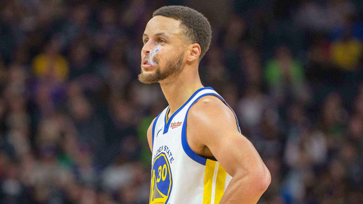 Nba Steph Curry: NBA Playoffs 2019: Warriors' Stephen Curry Returns To Game