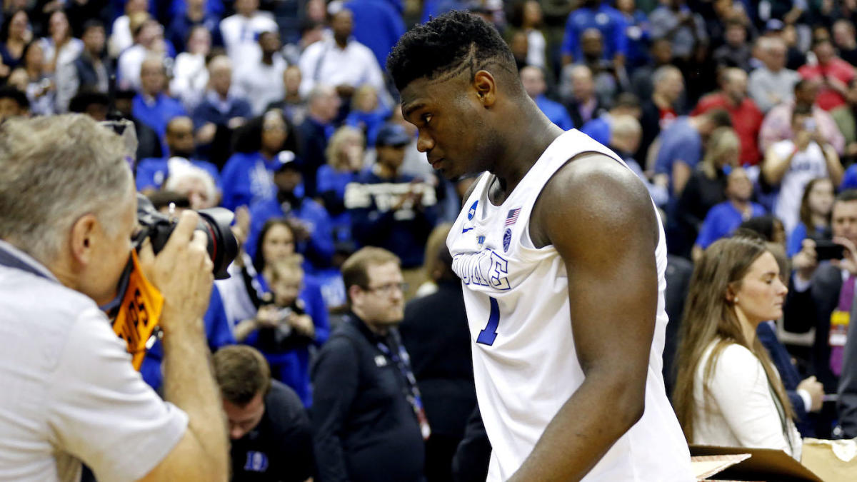 2019 NCAA Tournament: Zion Williamson disappears in Elite Eight loss when Duke needed him the most