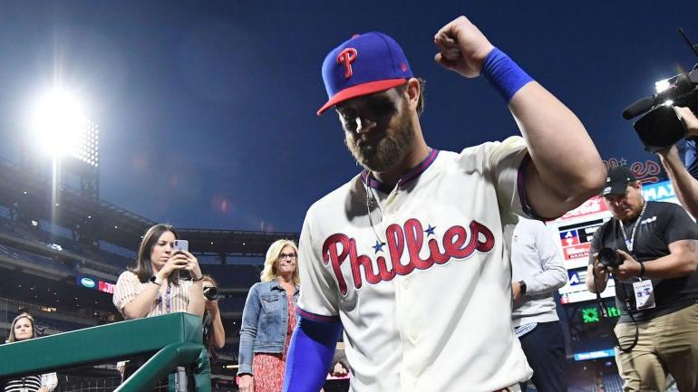 MLB schedule, scores: Bryce Harper makes return to Nationals