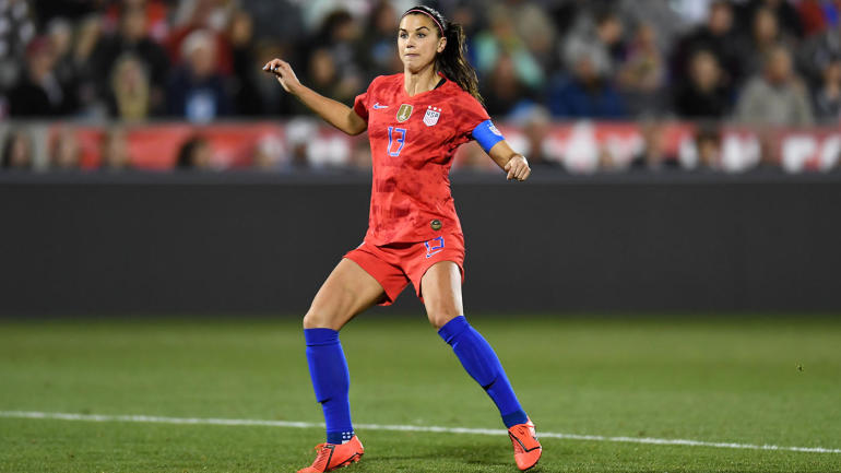 uswnt star alex morgan scores 100th goal in world cup tune