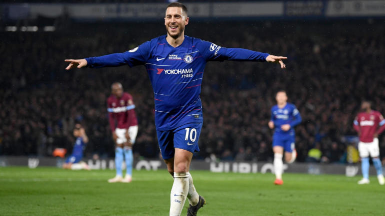 Premier League table, scores, schedule, highlights: Hazard scores stunning goal as Chelsea moves into third