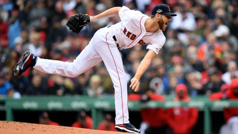 6b60ca6a8 Red Sox review  Chris Sale struggles as Boston s title defense is off to  terrible start - CBSSports.com