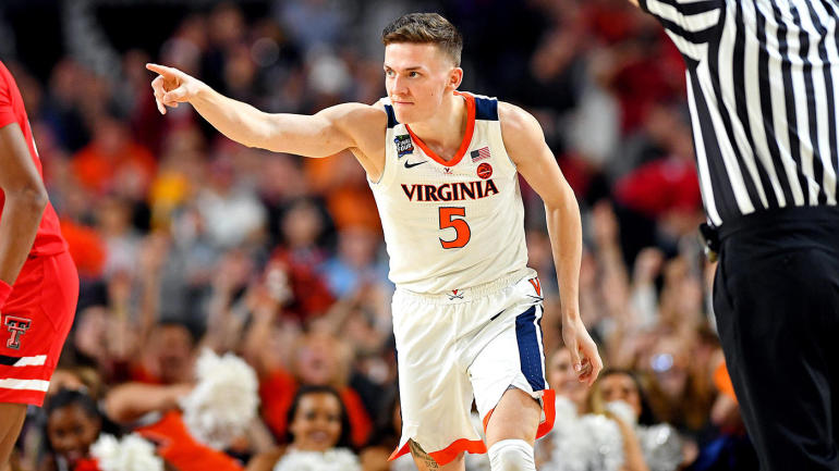 2019 Nba Draft Tracker Virginias Deandre Hunter Ty Jerome And Kyle Guy Leaving School Early Cbssports Com
