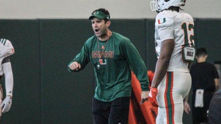 Diaz shares his thoughts on recruiting at Miami
