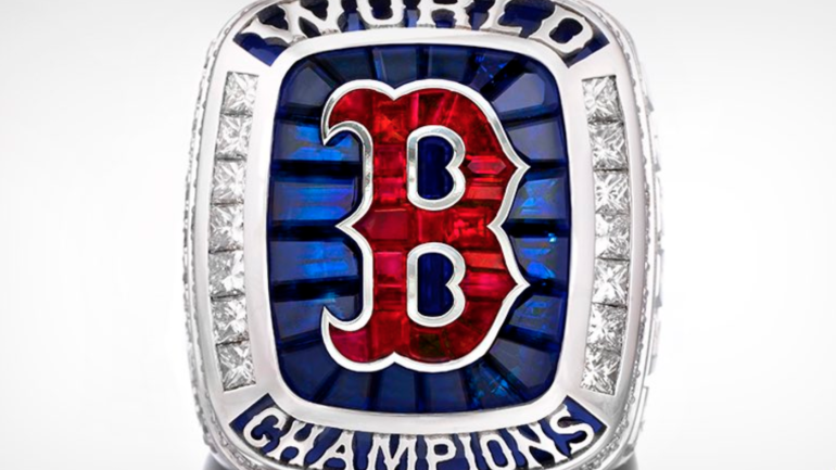 789beb75b926f3 Red Sox hand out impressive World Series rings