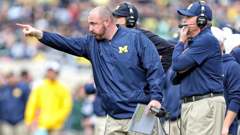 4e7a5509e54f Michigan assistant Chris Partridge rips former Wolverines assistants who  left for Ohio State