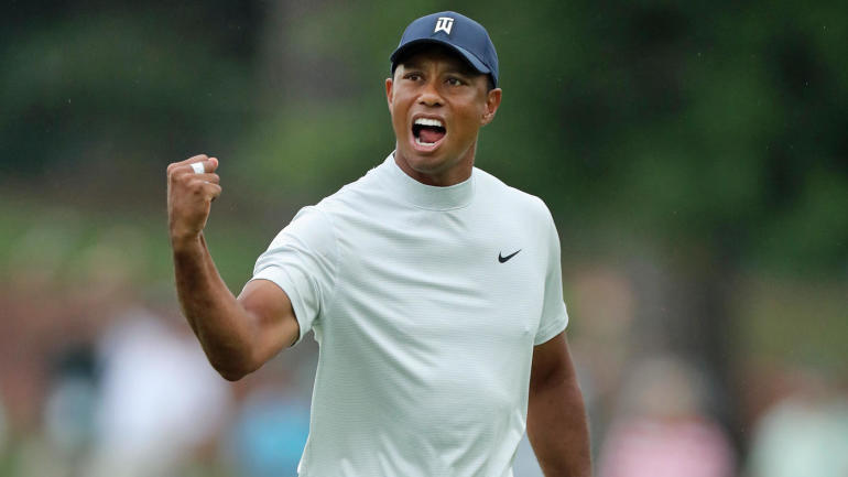 2019 masters  tiger woods score  resiliency  long birdie putts create best chance to win since