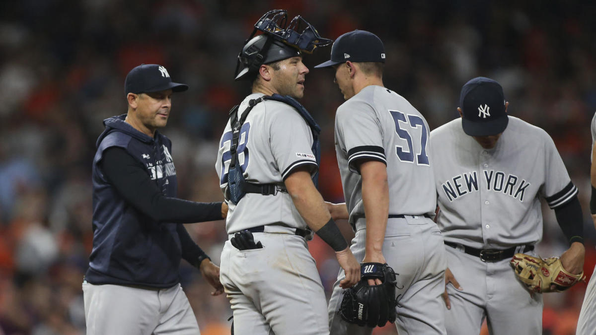size 40 f2347 97496 Aaron Boone explains Yankees' postseason pitching plan: 'We ...