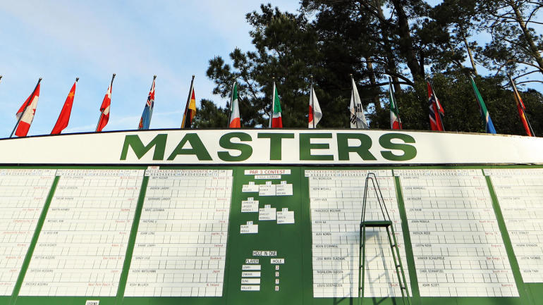 2019 masters leaderboard  live coverage  tiger woods score