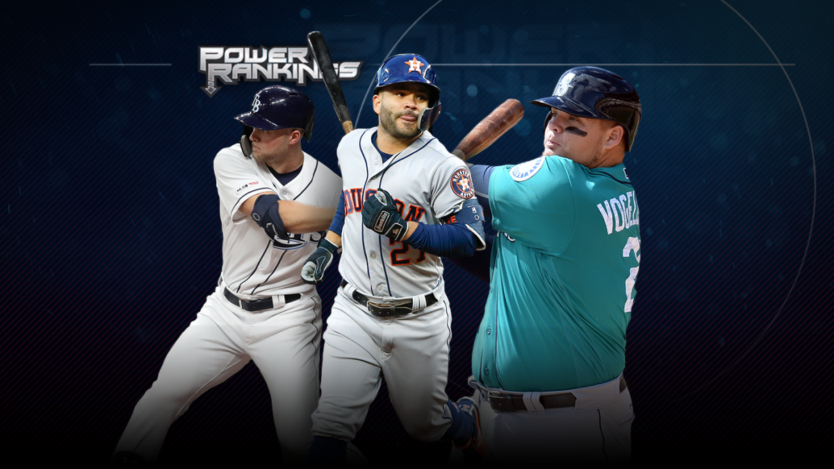 wholesale dealer 0cd68 044f5 MLB Power Rankings  Another week brings us another new No. 1, and it s not  the Mariners - CBSSports.com